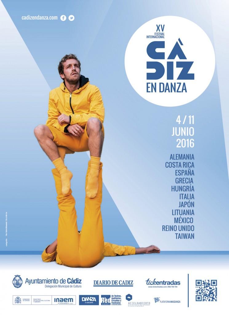 Cartel Cádiz en danza